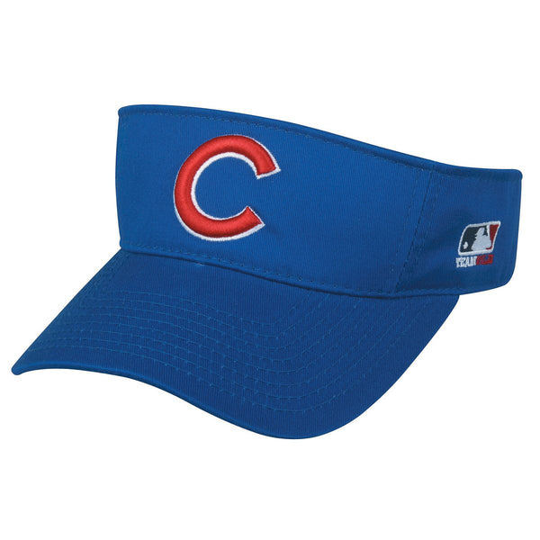 CUBS Mlb Replica Visor From Oc Sports
