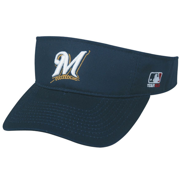 BREWERS Mlb Replica Visor From Oc Sports