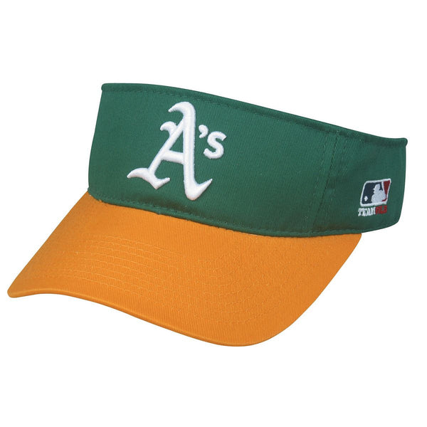 ATHLETICS Mlb Replica Visor From Oc Sports