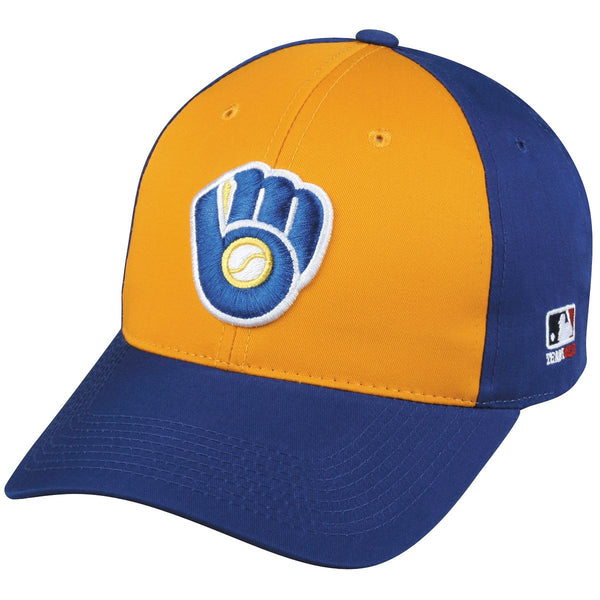 BREWERS Cooperstown Caps From Oc Sports