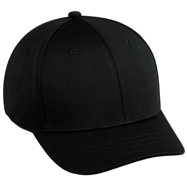 BLACK Oc Sports Bamboo Charcoal Official Cap