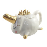 Unicorn Theepot gold