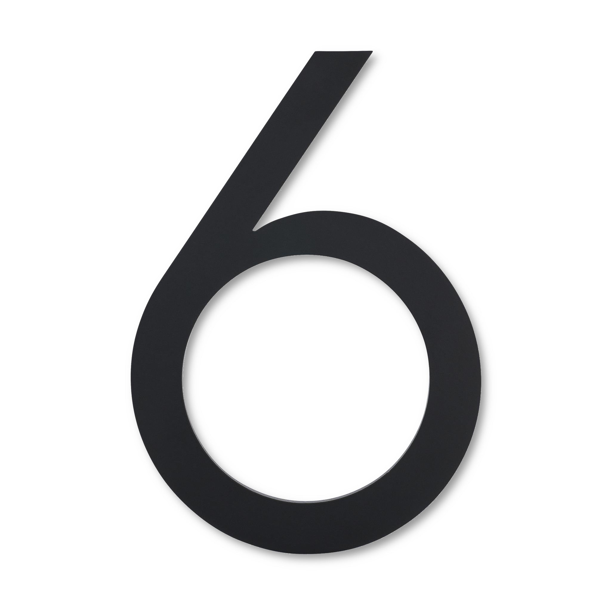 "6"" MODERN ADDRESS NUMBERS AND LETTERS"