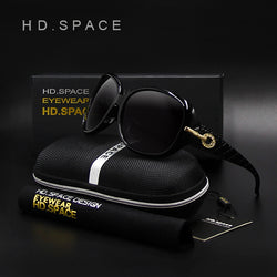 2017 HD.SPACE NEW Polarized  Sunglasses Women Fashion Brand designer Sun glasses UV400 Vintage oculos de sol feminino