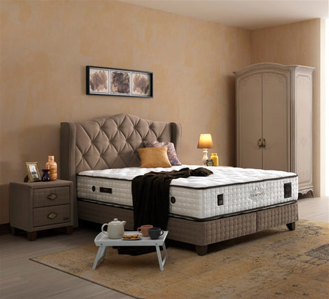 Diamond Boxspringbett Set