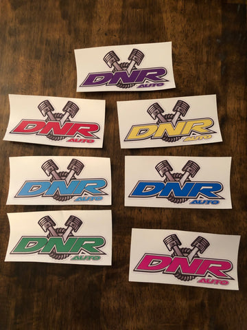 DNR Auto Stickers