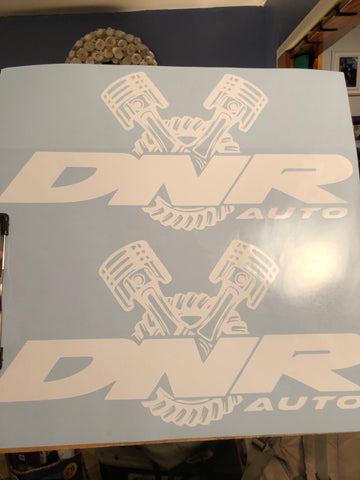 BIG DNR sticker