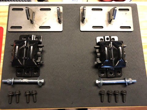 DNR Auto Chevy/GM universal LS Swap Motor Mount Kit