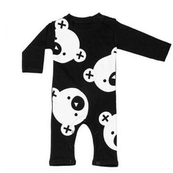 Newborn Bear Print Onesie - Theitkidsboutique