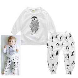 Penguin Print Tracksuit - Theitkidsboutique
