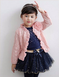 Jacket + Shirt and TuTu 3pc Set - Theitkidsboutique