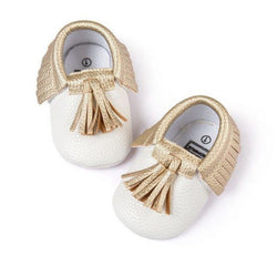 Leather Tassel Moccasins - Theitkidsboutique