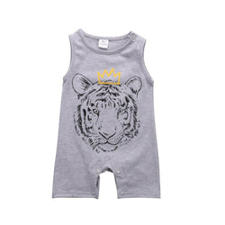 Adorable Baby Boy Tiger Romper Jumpsuit - Theitkidsboutique
