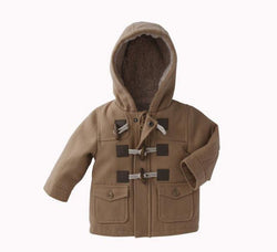 Boys Wool Winter Hooded Coat - Theitkidsboutique