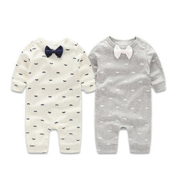 The Little Gentlemen Romper - Theitkidsboutique