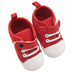 Newborn Canvas Sneaker - Theitkidsboutique