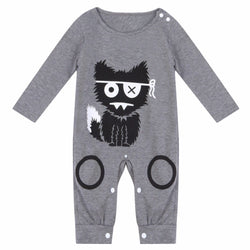 The Little Monster onesie - Theitkidsboutique