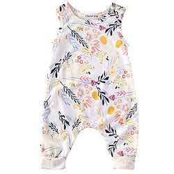Summer Floral Romper - Theitkidsboutique