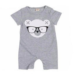 Nerd Bear Onesie - Theitkidsboutique