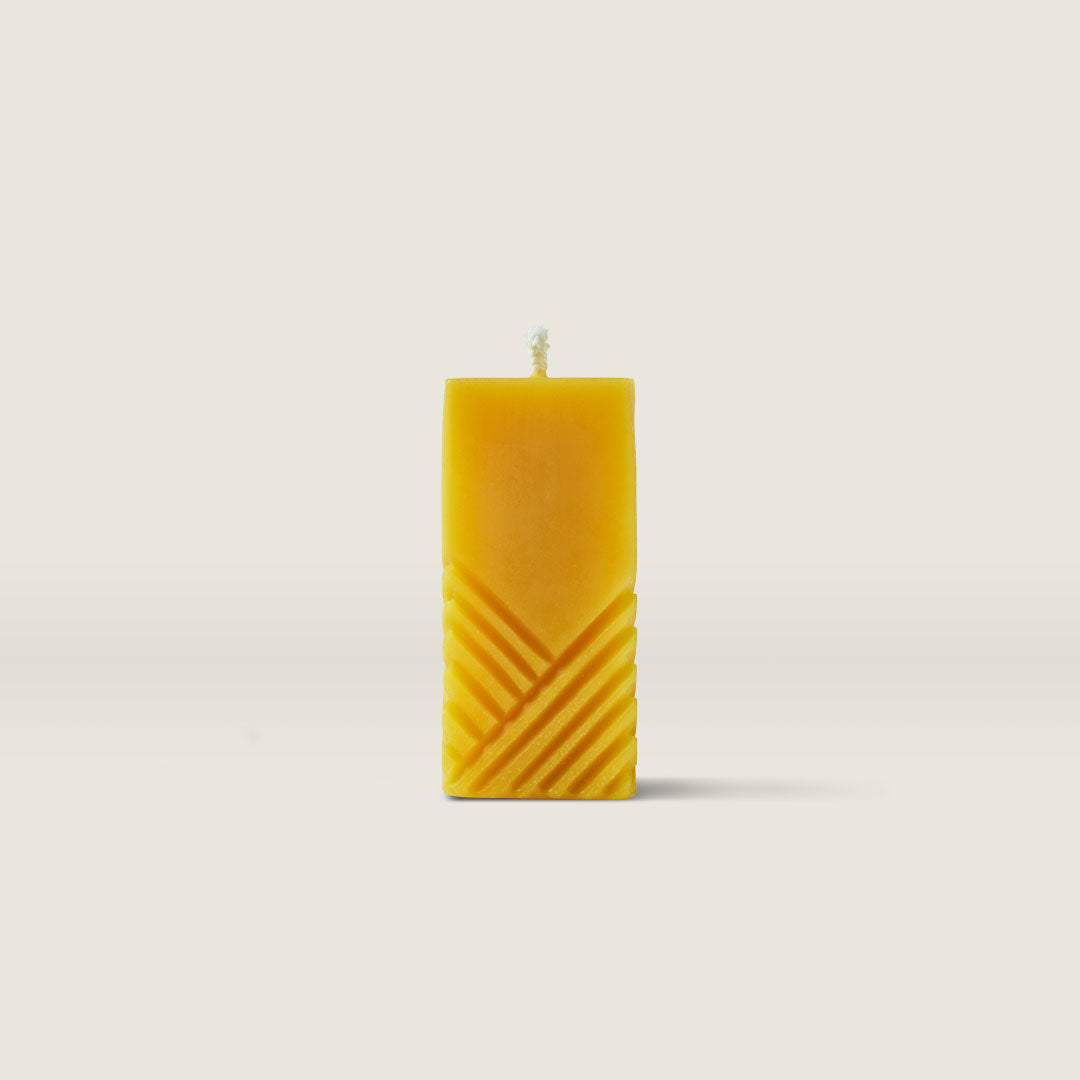 Beeswax Candle—Rectangle