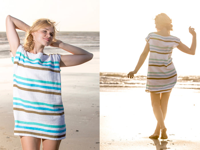 Henna Sipari - Lookbook - Linen Stripe Mini Dress - Resortwear