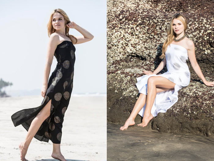 Henna Sipari - Lookbook - Cotton Maxi Dress - Resortwear