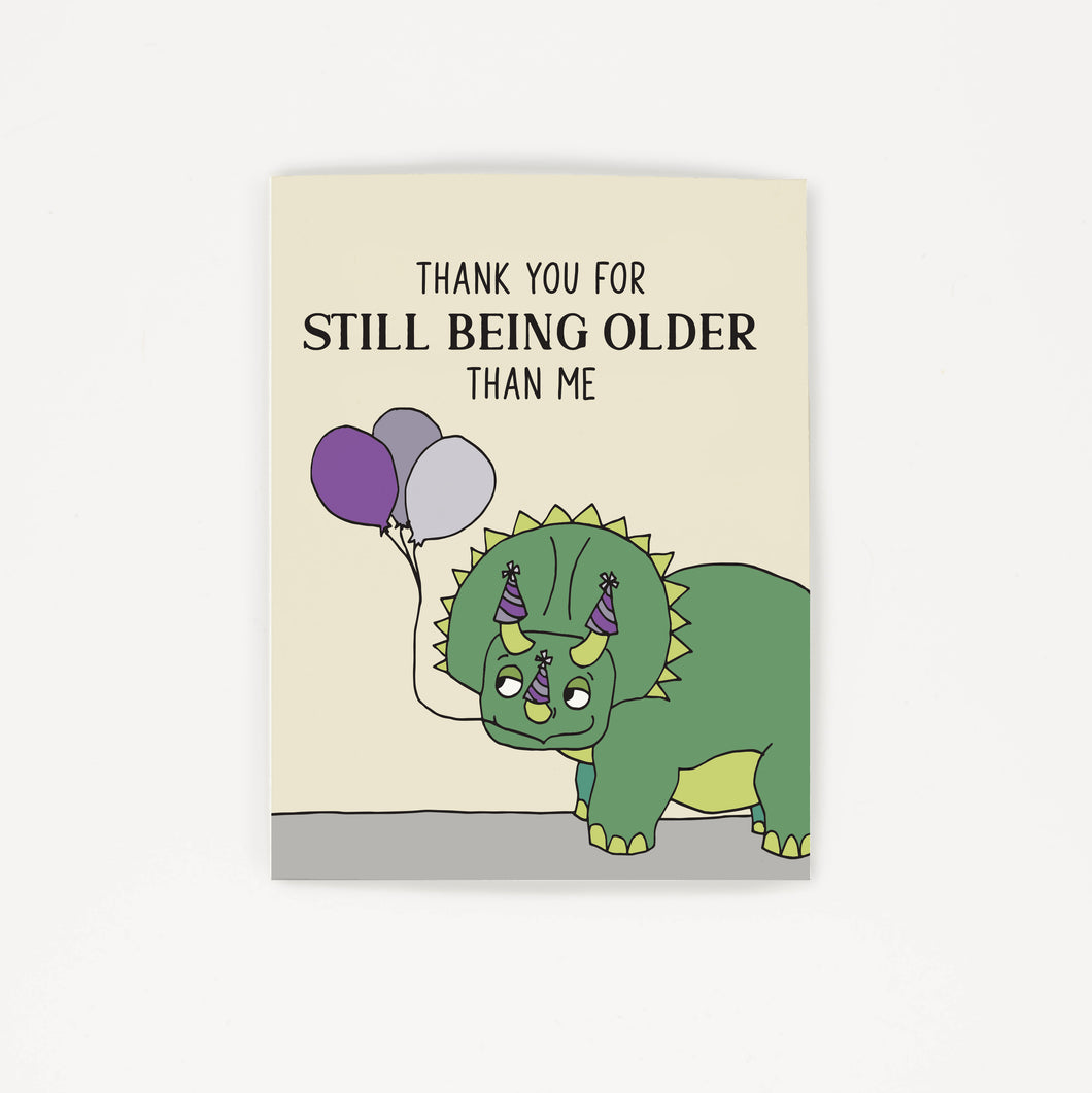 Dinosaur - Thank You Birthday Card