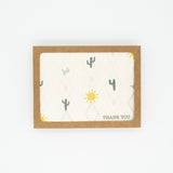 Cactus - Set of 8 Greeting Cards & Envelopes