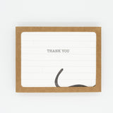 Shiplap & Cat - Set of 8 Greeting Cards & Envelopes