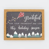 Grateful for Friends - Set of 8 Greeting Cards & Envelopes
