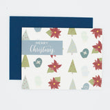 Merry Christmas - Set of 8 Greeting Cards & Envelopes