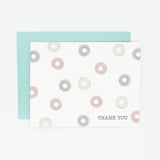 Donuts - Set of 8 Greeting Cards & Envelopes