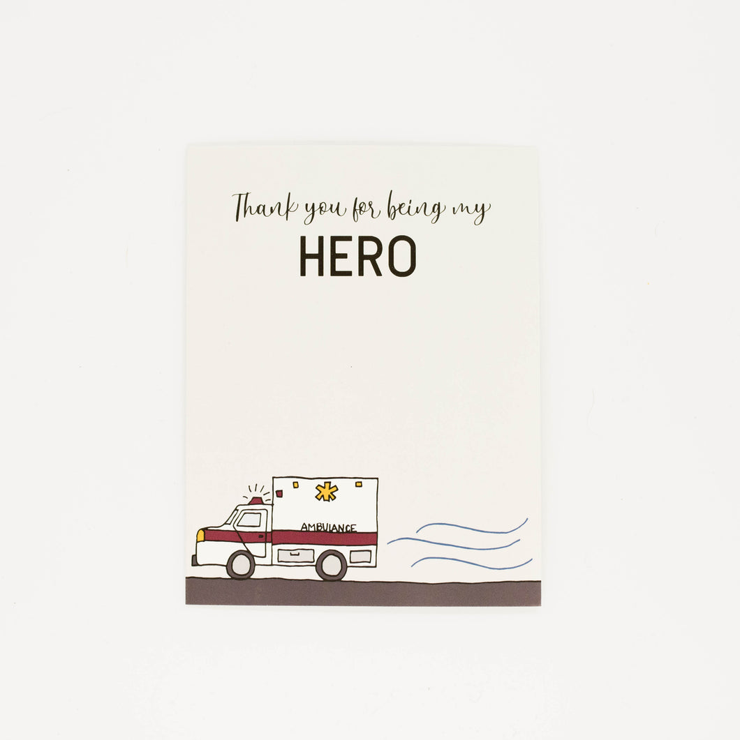 EMT - Thank You Greeting Card