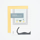 Succulent - Thank You Greeting Card