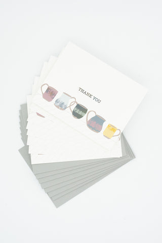 Mugs - Set of 8 Greeting Cards & Envelopes