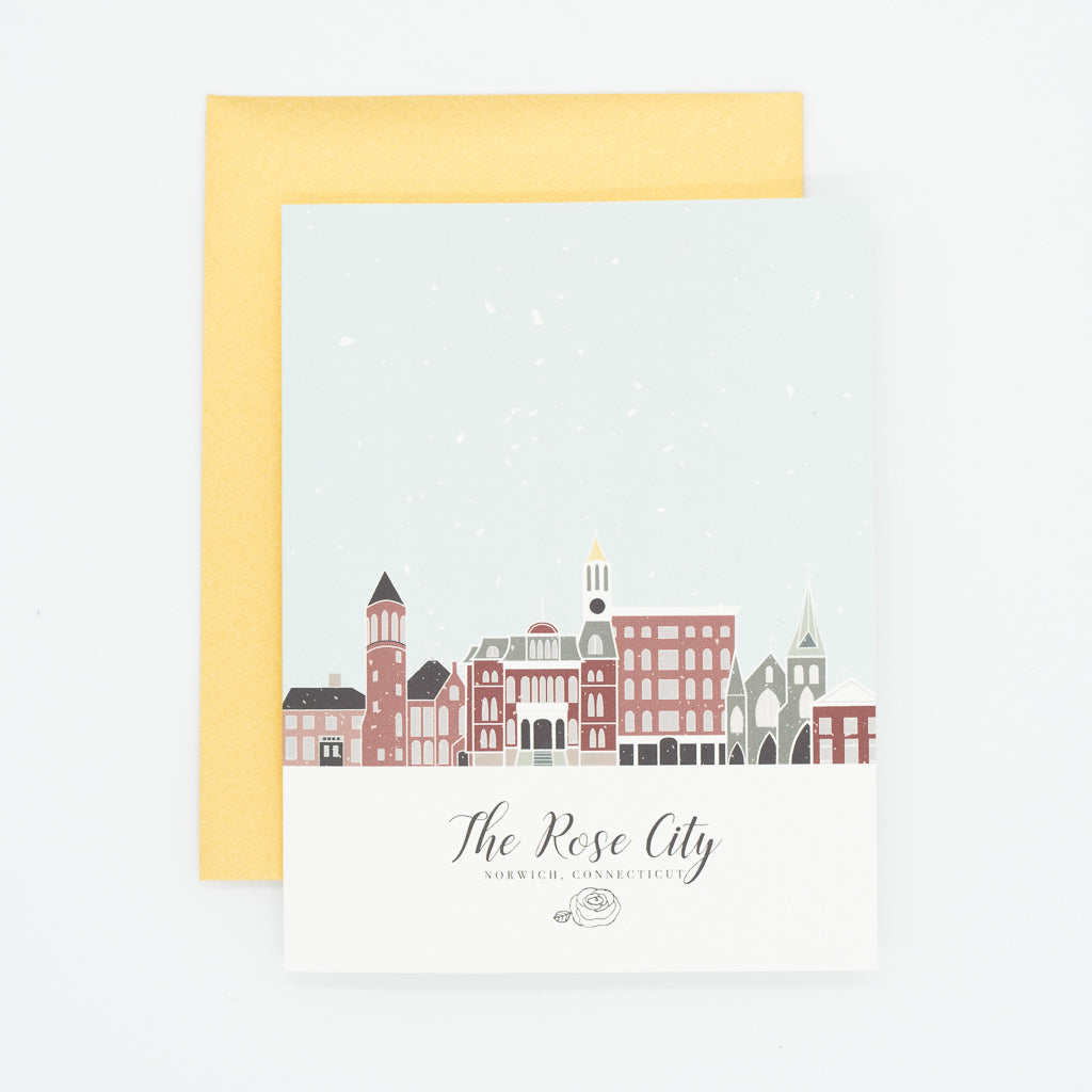 Rose City 5x7 Art Print