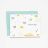 Pie - Set of 8 Greeting Cards & Envelopes