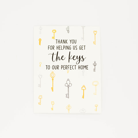 Realtor - Thank You Greeting Card