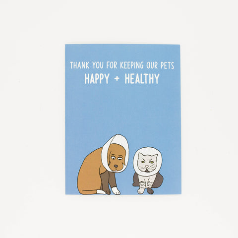Veterinarian - Thank You Greeting Card