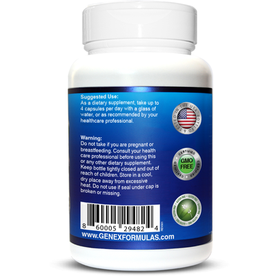 NMN 1000mg Per Serving - Naturally Boost NAD+ Levels - 120 Capsules NMN Nicotinamide Mononucleotide Supplement