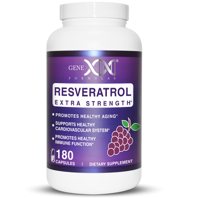 Genex Formulas Resveratrol 1000mg VALUE PACK antioxidant
