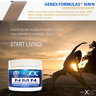 NMN Sublingual Powder 45GRAM Serving - Nicotinamide Mononucleotide (15gX3 jars)