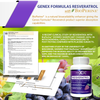 Genex Resveratrol with Bioperine for Faster Absorption