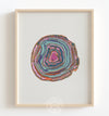Abstract Geode No. 2 Printable Art