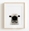 Baby Blacknose Sheep with Bow Tie Printable Art