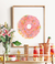 Pink Donut Watercolor Printable Art