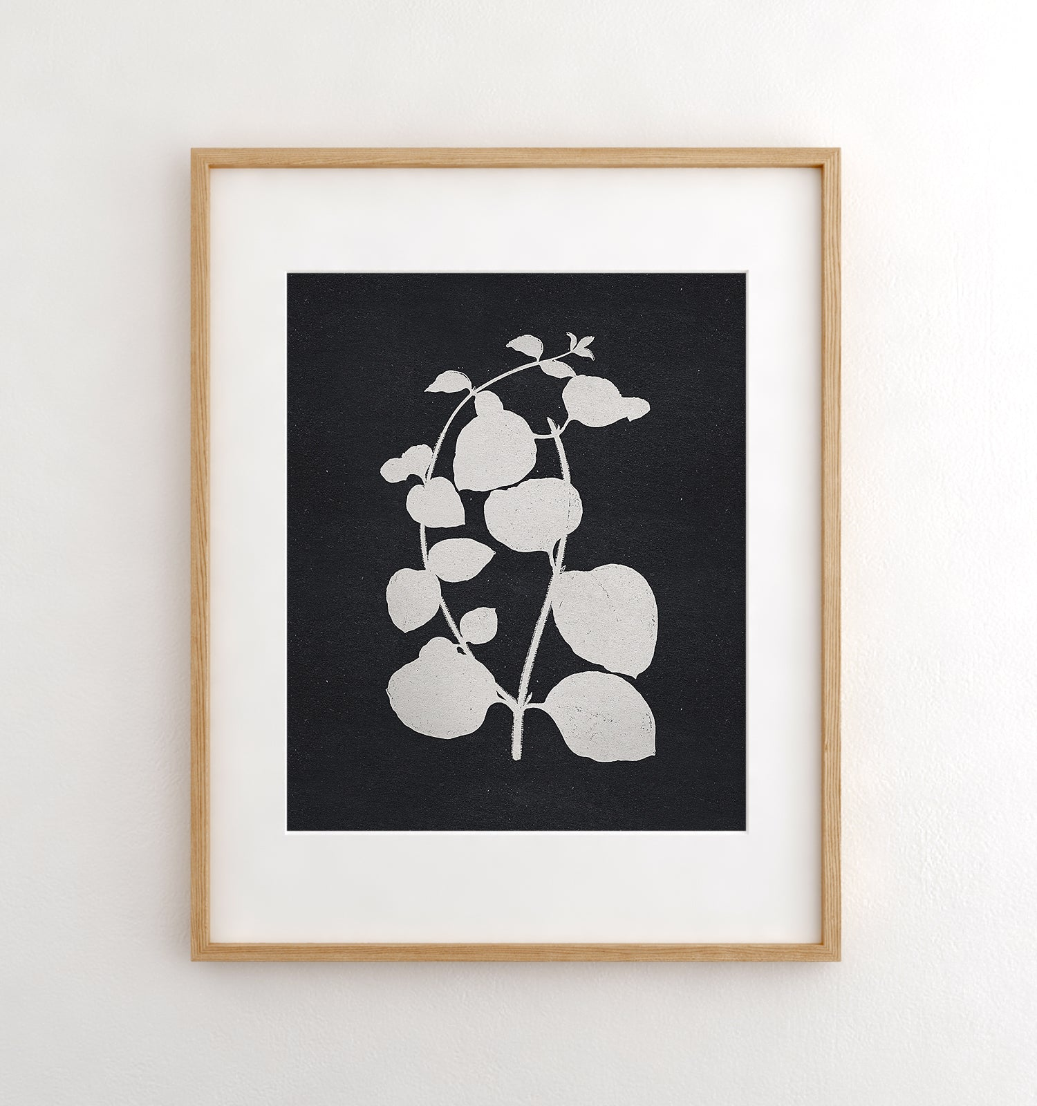 Botanical Silhouette No. 2 Printable Art