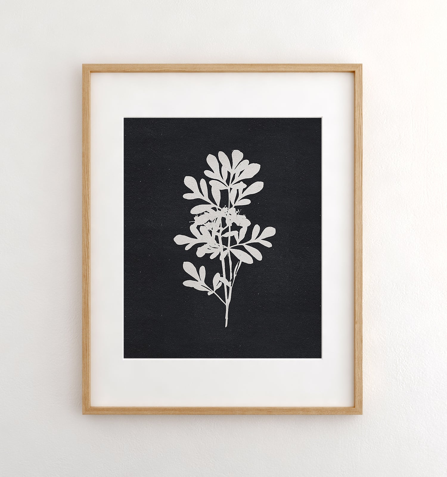 Botanical Silhouette No. 4 Printable Art