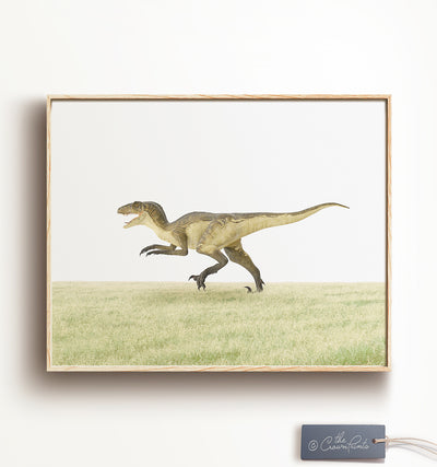 Dinosaurs - Set of 4 Prints - Printable Art