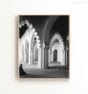 Morocco Arches No. 1 - Black and White Printable Art